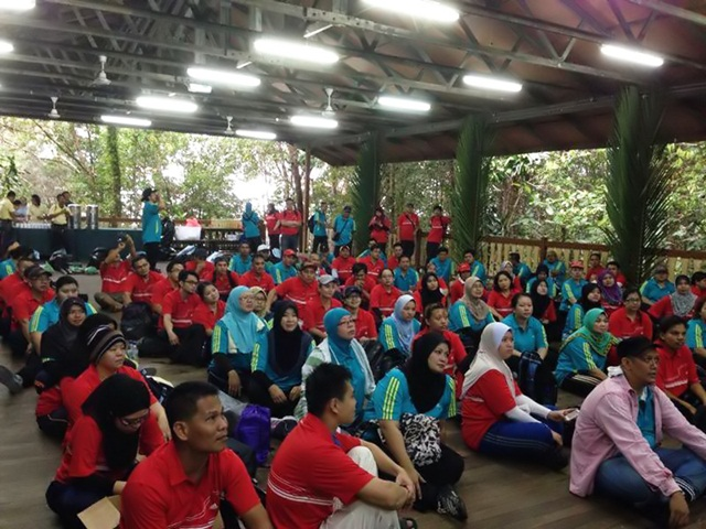 Briefing session at The Jungle Hall