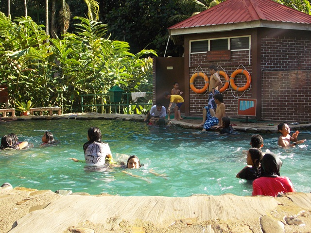 Refresh yourself at Poring Hot Spring