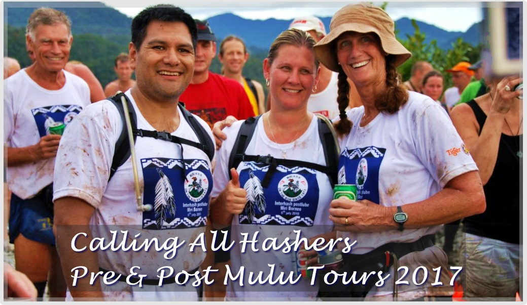 Pre & Post Mulu Hash Tour For Hash Members in Mulu National Park